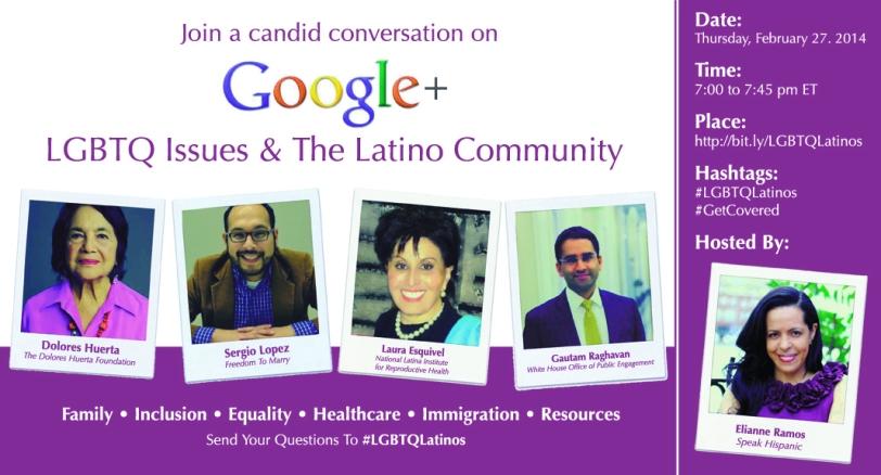 Flyer LGBTQ G+ Hangout FINlo