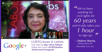 Dolores Huerta on ACA and LGBTQ Latinos