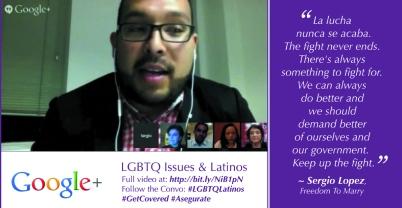 Sergio Lopez on LGBTQ Latinos