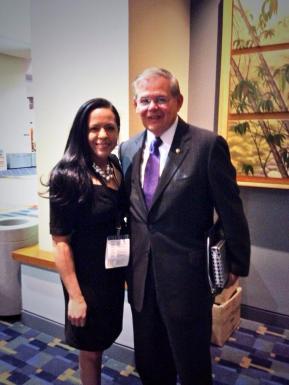 Senator Menendez. October 2013..