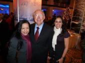 Former Secretary of Interior Ken Salazar and Midy Aponte.