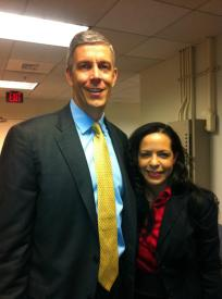 Secretary of Education, Arne Duncan.