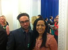 Big Bang Theory's Leonard Hofstadter: Johnny Galecki.