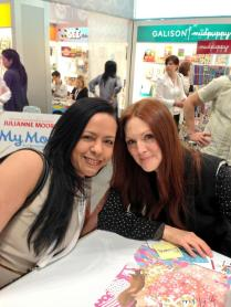 Actress and author Julianne Moore.
