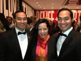 San Antonio Mayor Julian Castro and his twin Congressman Joaquín Castro.