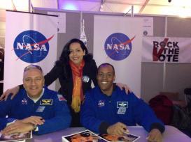 Uber-cool Astronauts Michael Massimino and Benjamin A. Drew.
