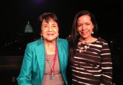 Labor, women and civil rights legend, Dolores Huerta.