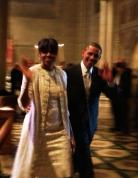 President Obama and First Lady Michelle Obama.
