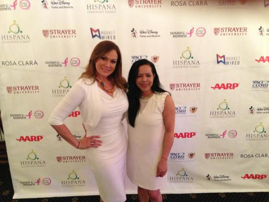 Journalist and life coach Cecilia Ramirez-Harris. August 2013.