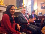 U.S. Senate Majority Leader, Harry Reid.