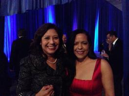 Former Secretary of Labor and current candidate to LA County Supervisor, Hilda Solis.
