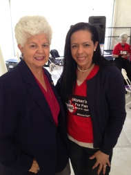 Congresswoman Grace Napolitano. April 2014.