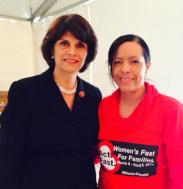 U.S. Congresswoman Lucille Roybal-Allard.