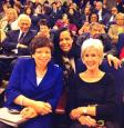 Senior Advisor to the President Valerie Jarret and former Secretary of Health Kathleen Sebelius, at the White House.