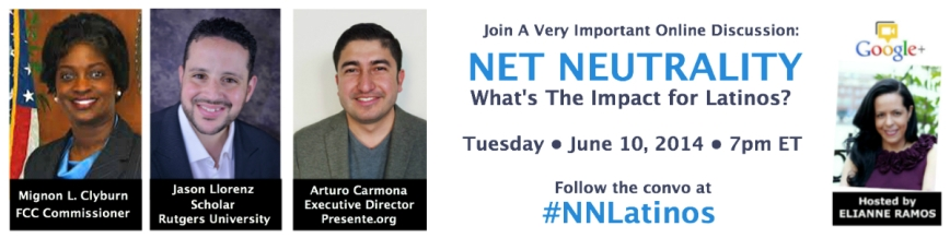 Net Neutrality G+ Hangout Invite