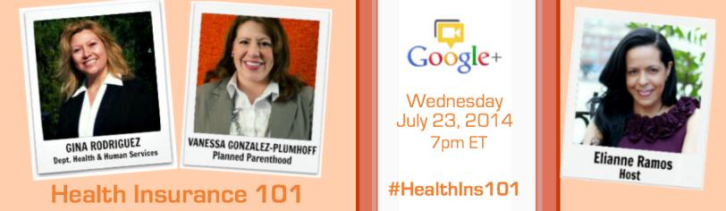 Health Insurance 101 Hangout Promo