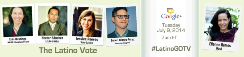 The Latino Vote Hangout Promo