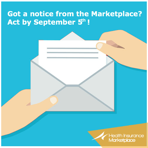 4. If you already sent in the required documents, call the Marketplace Call Center at 1-800-318-2596 and tell them you got a data matching warning notice. TTY users should call 1-855-889-4325.