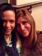 With Author Irene Vilar, at the Americas Latino Eco Festival, September 2014