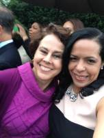 With Cecilia Muñoz, at Vice President Biden's residence, September 22, 2014